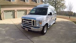 West TN 2010 Ford E150 Sherrod High Top Conversion  Van used for sale info www sunsetmotors com