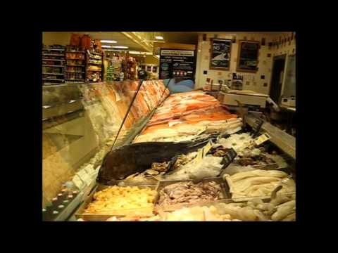 Best Seafood Case of the World at Whole Foods Market Newtonville Massachussets