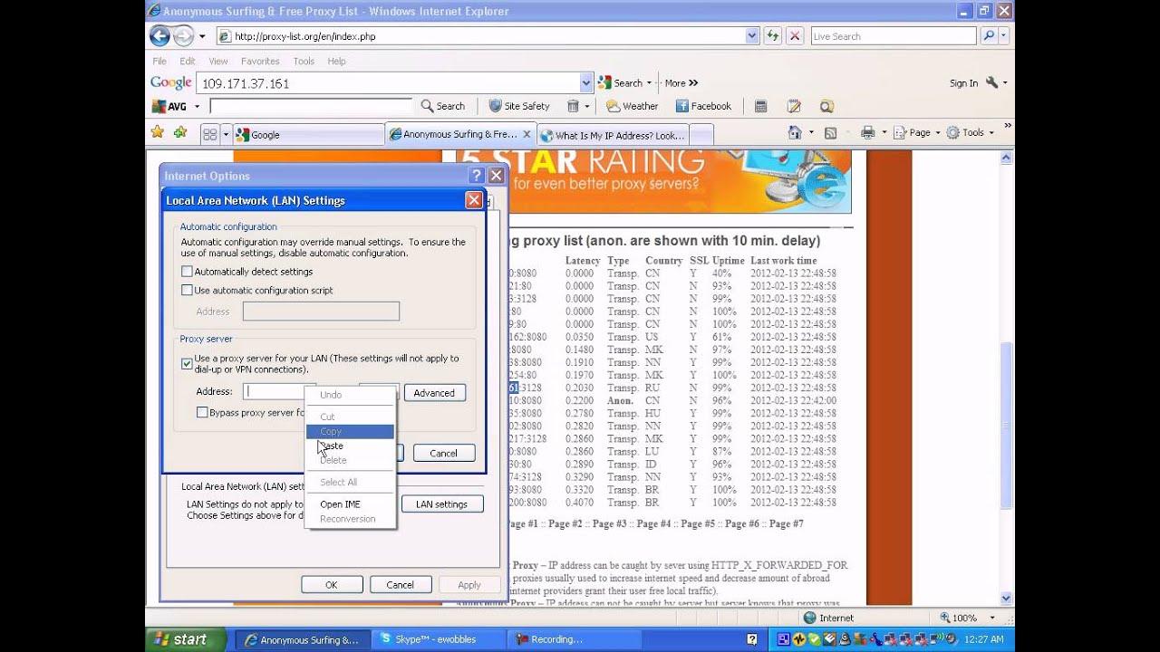 canada address proxy ip-20