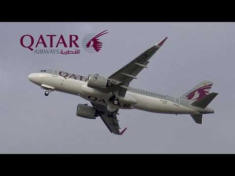 ✈ 1st Airbus A320NEO for QATAR AIRWAYS takes to the skies