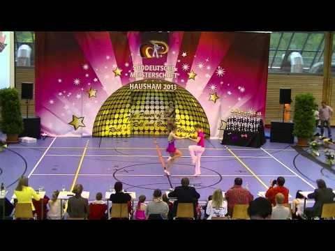 Magdalena Schramm & Christoph Quergfelder - Süddeutsche Meisterschaft 2013