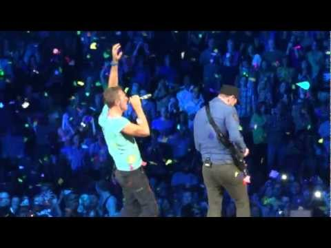 Coldplay In My Place Live Montreal 2012 HD 1080P