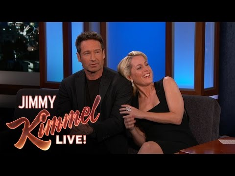 David Duchovny & Gillian Anderson Explain their 90's Tension