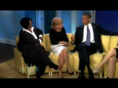 Barack Obama's reactions about Chelsea Clinton's wedding (as seen on The View)