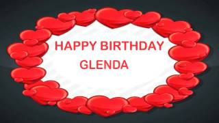 Glenda   Birthday Postcards & Postales