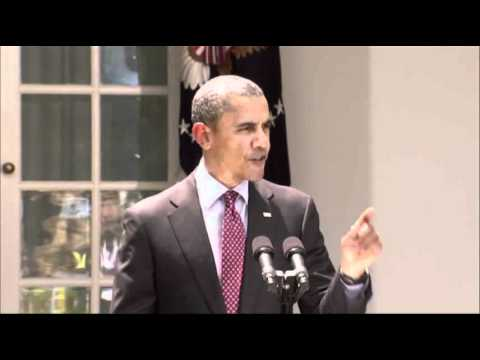 Raw Video: Reporter Interrupts Obama Statement