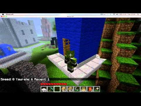 Mods You Should - Zeppelin Minecraft Mod/Make a Tardis Fly