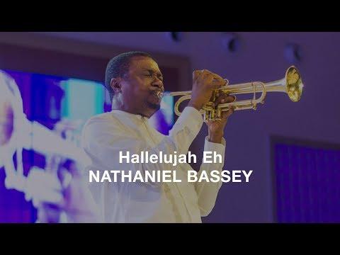 Hallelujah Eh - Nathaniel Bassey (Lyrics Video)