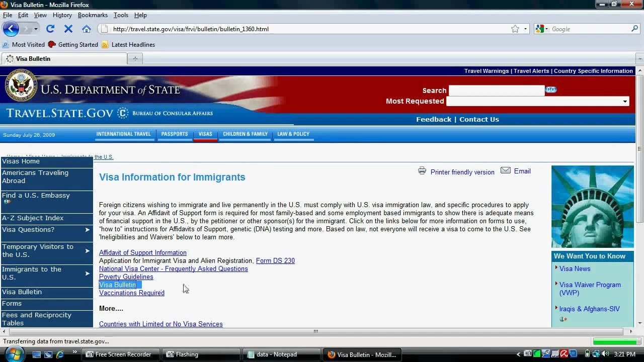 How To Check Case Status Of Us Immigration Youtube