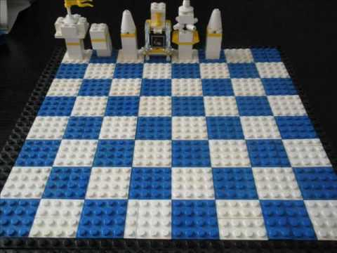 Building a Lego Chess Set