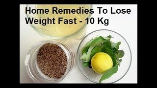 fat cutter drink for extreme weight loss - get flat belly in 10 days with cumin seeds, curry leaves