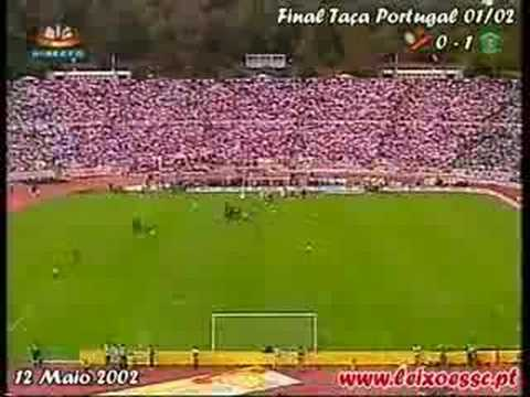 Leixões 0-1 Sporting / Final Taça Portugal 01/02