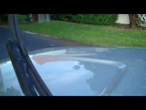 How to change remove windshield wiper blades 2008 GMC Sierra Chevy Silverado
