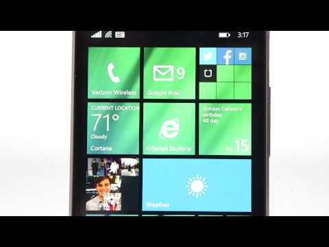 HTC One with Windows Phone 8.1 Review