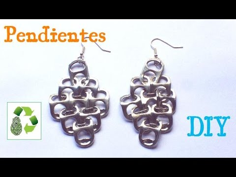 32. DIY EARRINGS  (PENDIENTES) RECICLAJE DE ANILLAS