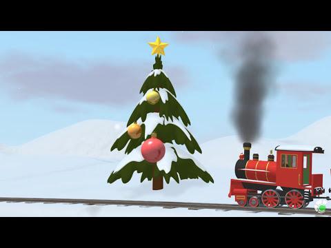 Learn Colors (SPANISH) - Aprende los colores y decora el árbol de navidad con Shawn el Tren