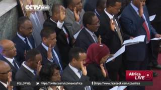Ethiopia: P/M Hailemariam Desalgn has replaced and reshuffled more than twenty ministers CCTV News