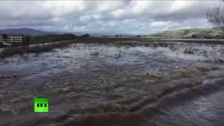 Golden State Rains: Storm slams into California causing massive floods