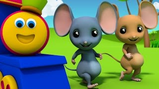 Bob The Train | Three Blind Mice | Nursery Rhymes | 3D rhymes Children | Rhymes Bob Cartoons Kids Tv