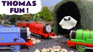 Thomas & Friends fun with toy trains ghosts and pranks with Tom Moss TT4U