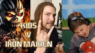 KIDS DON'T KNOW IRON MAIDEN?!?!?! | Mike The Music Snob Reacts
