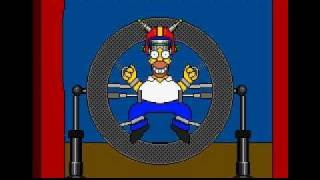 Virtual Bart Ending Sega Genesis