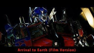 Transformers Complete Score Arrival To Earth Film Version