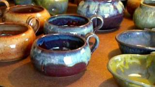 Pottery Glazing - Video #1