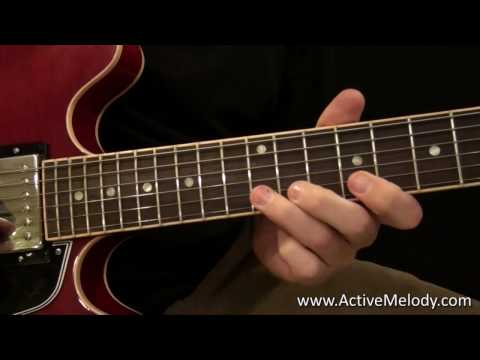 Lesson Guitar - Blues Scales