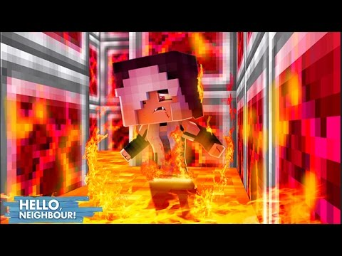 Minecraft: HELLO NEIGHBOR - A MIA MORREU NO DESAFIO DO LABIRINTO | EP 37 thumbnail
