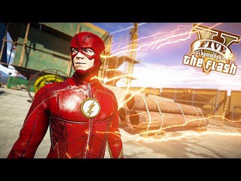 The Flash VS Nuke! RUNNING IN FLASH TIME! (GTA 5 Quicksilver Mod) thumbnail