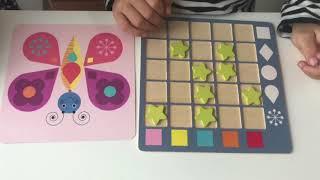 Vzdělávání hrou - tvary a barvy, Coloformix od Djeco