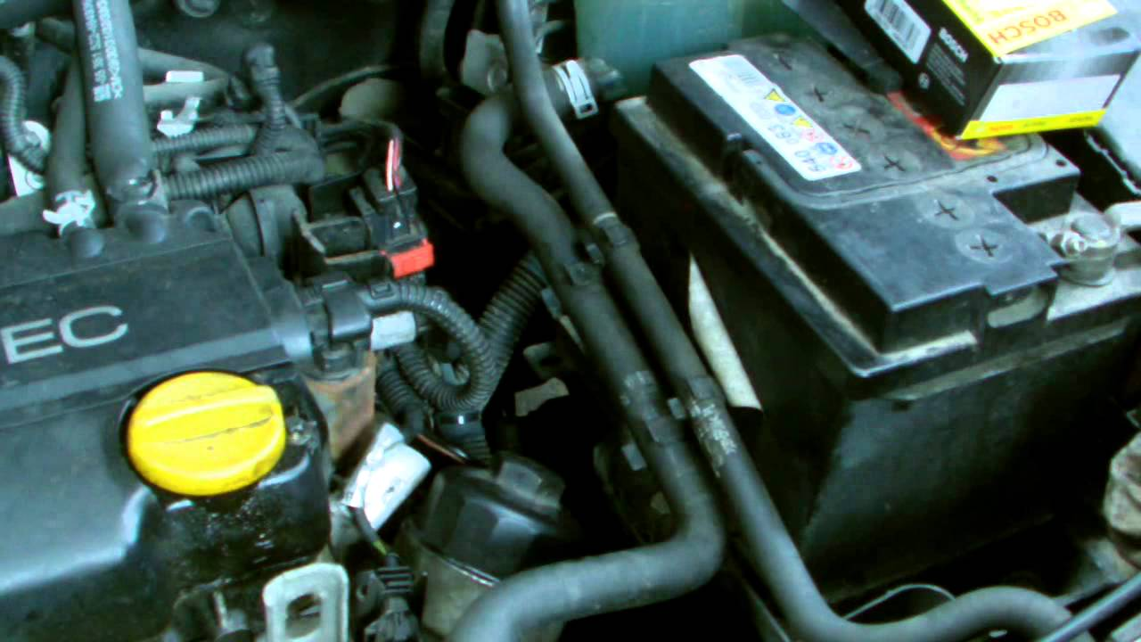 Opel Vauxhall Astra Ecotec Oil Filter Removal Youtube