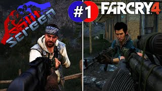 SplitScreen - Far Cry 4 - Co Op Campaign #1