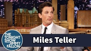 Miles Teller Is A Self Taught Drummer