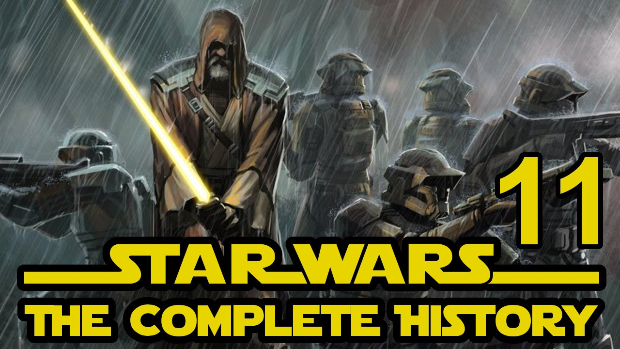 Star wars the complete history episode 11 the devastation of ossus