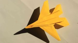 How to make a cool paper plane origami: instruction| F14 TOMCAT