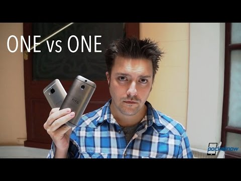 HTC One M9 vs M8: Hands-On Comparison from MWC 2015