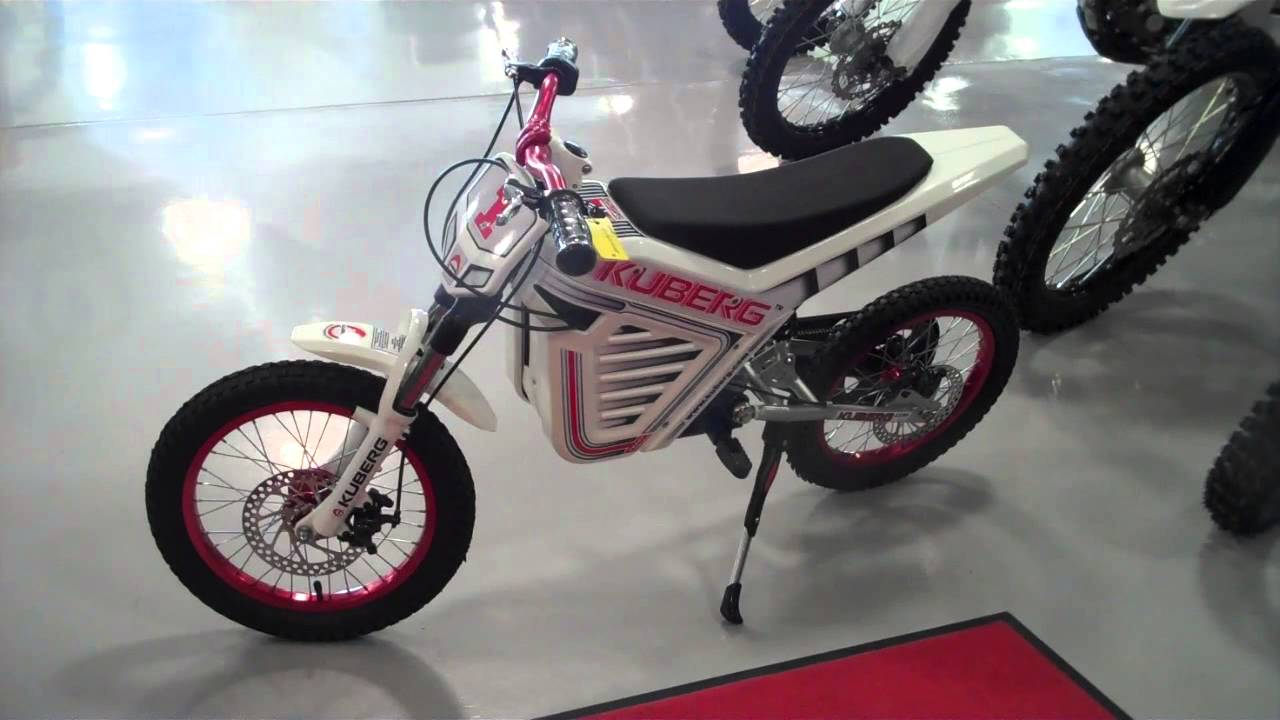 Kuberg Cross Electric Kids Motorcycle Youtube