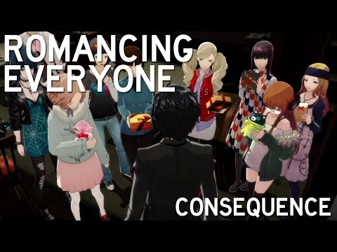 Persona 5: Valentine's Day Consequences for Dating Everyone (ENGLISH)