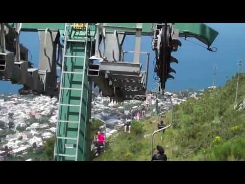 Travel Guide - Capri Italy - Chair Lift to top of Monte Solaro - Isle of Capri