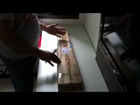 Unboxing carabina de pressão Weihrauch HW30s