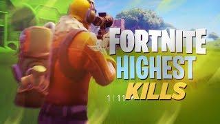 MY HIGHEST KILL GAME?! - Fortnite: Battle Royale