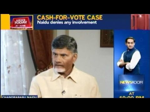 News Today At Nine: Chandrababu Naidu On Cash-For-Votes Scandal