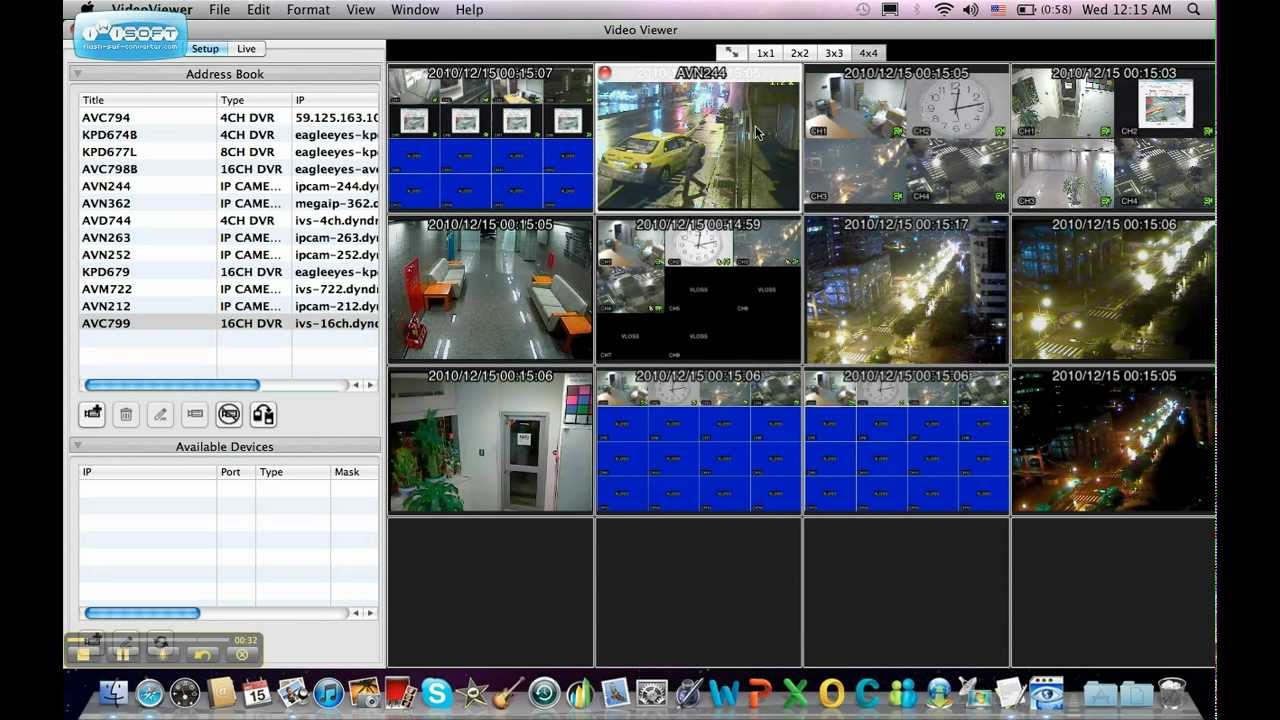video viewer for mac avtech eagleeyes   youtube