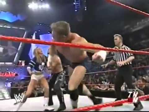 Test, Val Venis & Stacy Keibler Backstage + Test & Stacy Keibler vs. Chris Jericho & Christian