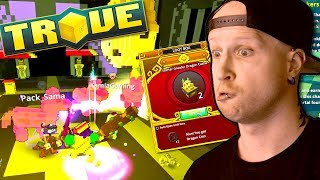 PINATA INVADERS & GREATER DRAGON CACHE!? ✨ Trove - New Beginning #06