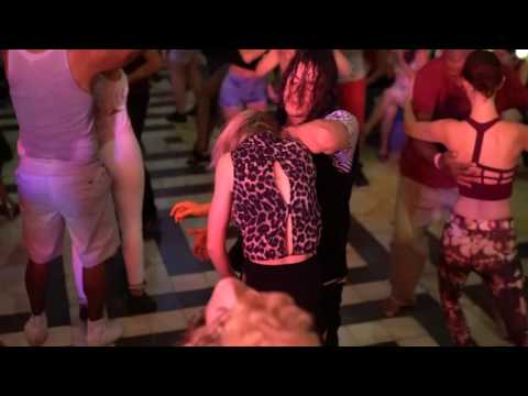 00238 ZoukMX 2016 Social dance Tiia and Mafie ~ video by Zouk Soul