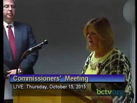 County of Berks Commissioners' Meeting. October 15th, 2015