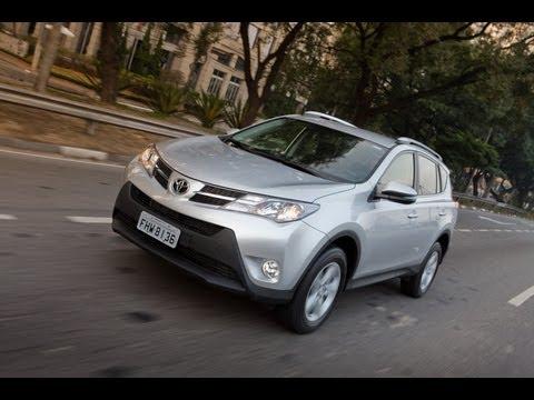 Teste - Novo Toyota RAV4 2013 - Falando de Carro